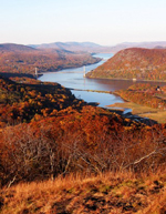 Photo of scenic Hudson River