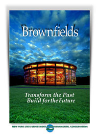 Brownfields Brochure Cover - Greenport Carousel