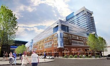 Artist rendering of HARBORcenter