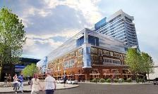 Artist rendition of the HARBORcenter
