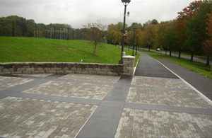 Permeable Pavement at SUNY Albany in Albany County