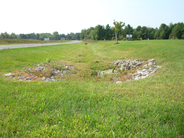 Dry Swale and Niskayuna Business Park