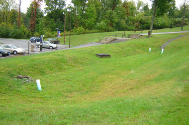 Bioretention Filter at Dutchess County Community College