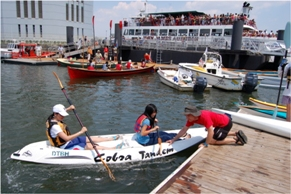 Free kayak program at the 72nd Street boat dock