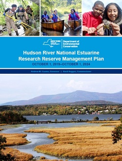 Cover of the Hudson River National Estuarine Research Reserve Management Plan