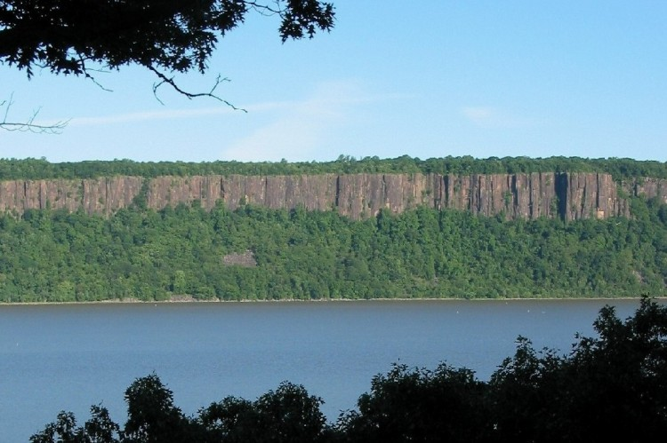 The Palisades cliffs