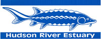 Hudson River Estuary logo of a sturgeon
