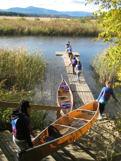 Tivoli North Bay canoe launch