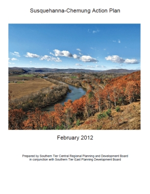 Cover of the Susquehanna-Chemung Action Plan