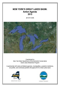 report cover for Great Lakes Action Agenda