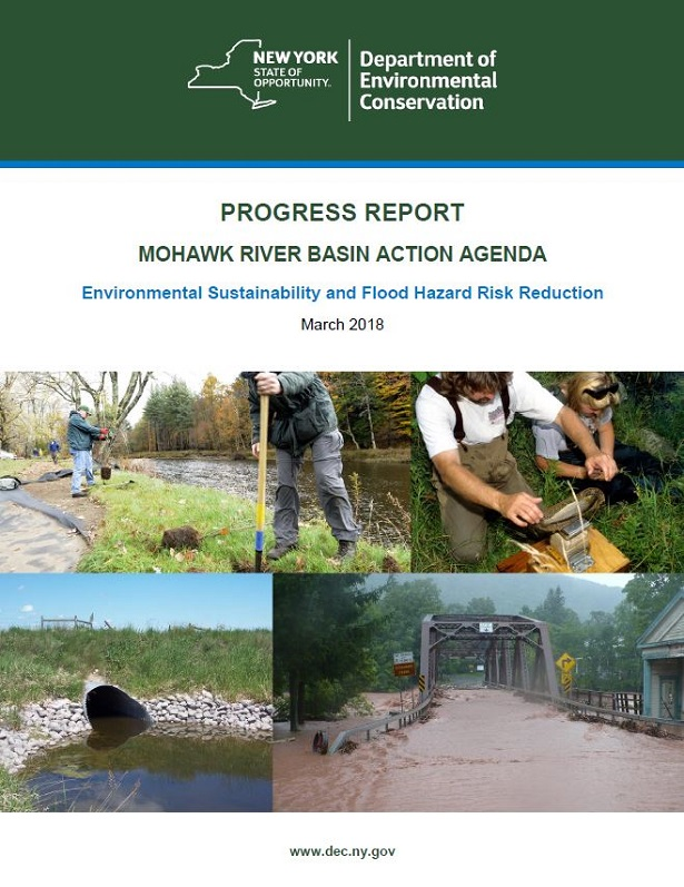 Progress Report Mohawk River Basin Action Agenda