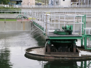Wastewater Treatment Plant Clarifier