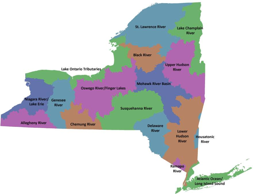 Watersheds  NYS Dept Of Environmental Conservation