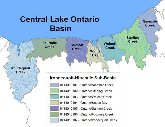 Central Lake Ontario Basin