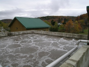 Wastewater Treatment Plant Aeration Tank