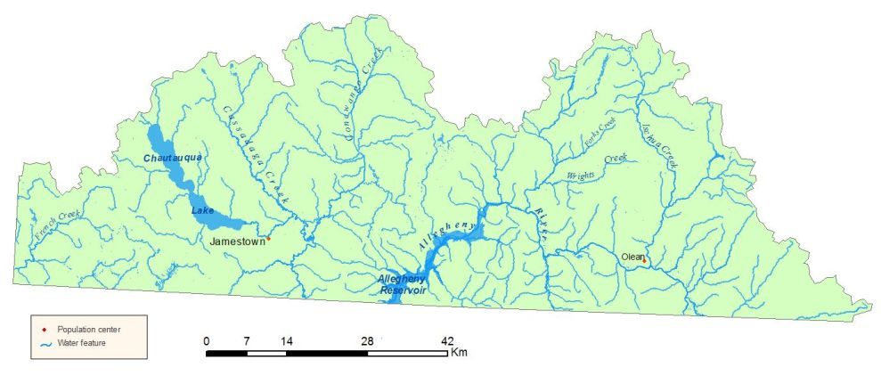 Allegheny River Watershed Map