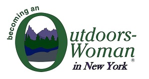 becoming an outdoors woman logo