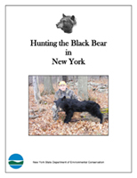 The cover of Hunting the Black Bear in New York booklet