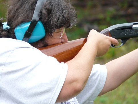 Marksmanship at a Becoming an Outdoors-Woman Workshop