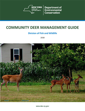 cover of community deer management handbook