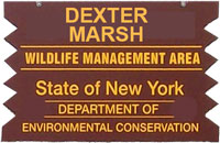 dexter marsh brown sign
