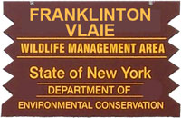 Franklinton Vlaie Brown Sign