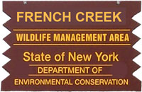 french creek brown sign