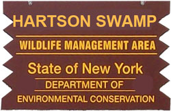 Hartson Swamp Brown SIgn