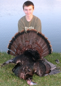 Successful Junior Turkey Hunter