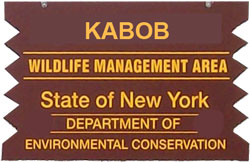 Kabob WMA Brown SIgn