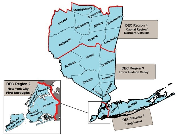 Southeastern NY License Issuing Agents - NYS Dept  of