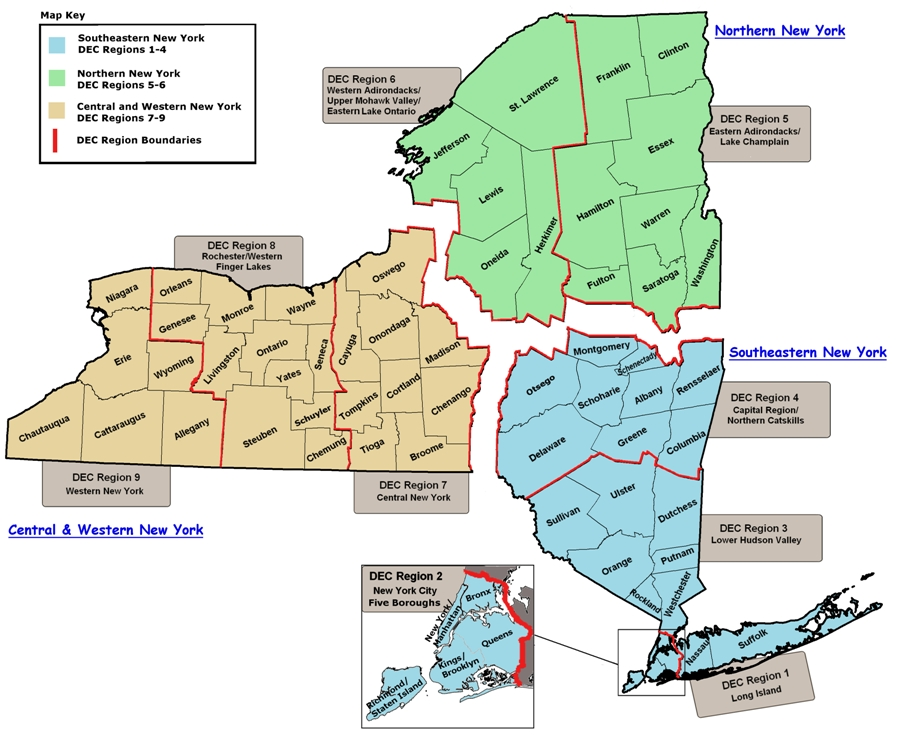sporting license issuing agent locations - nys dept. of