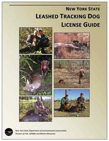 Cover of the Leashed Tracking Dog License Guide