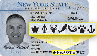 Lifetime sporting licenses nys dept of environmental for Nc wildlife fishing license