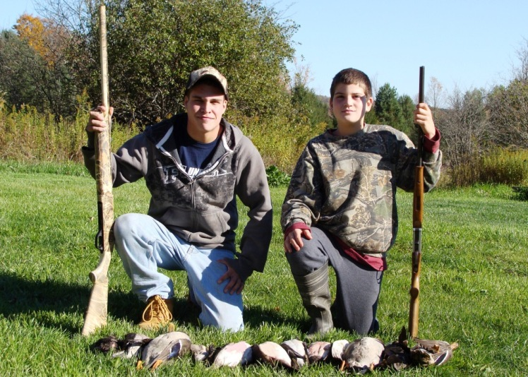 Successful Junior Waterfowl Hunter, Fall 2010, Chenango County
