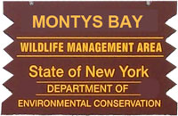 Monty Bay Brown Sign