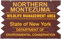Northern Montezuma Brown Sign