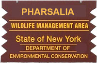 Pharasalia WMA Brown Sign