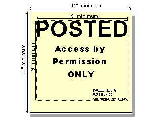 Laws For Posting No Trespassing Signs In Pa