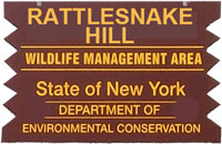 Rattlesnake HIll WMA Brown Sign