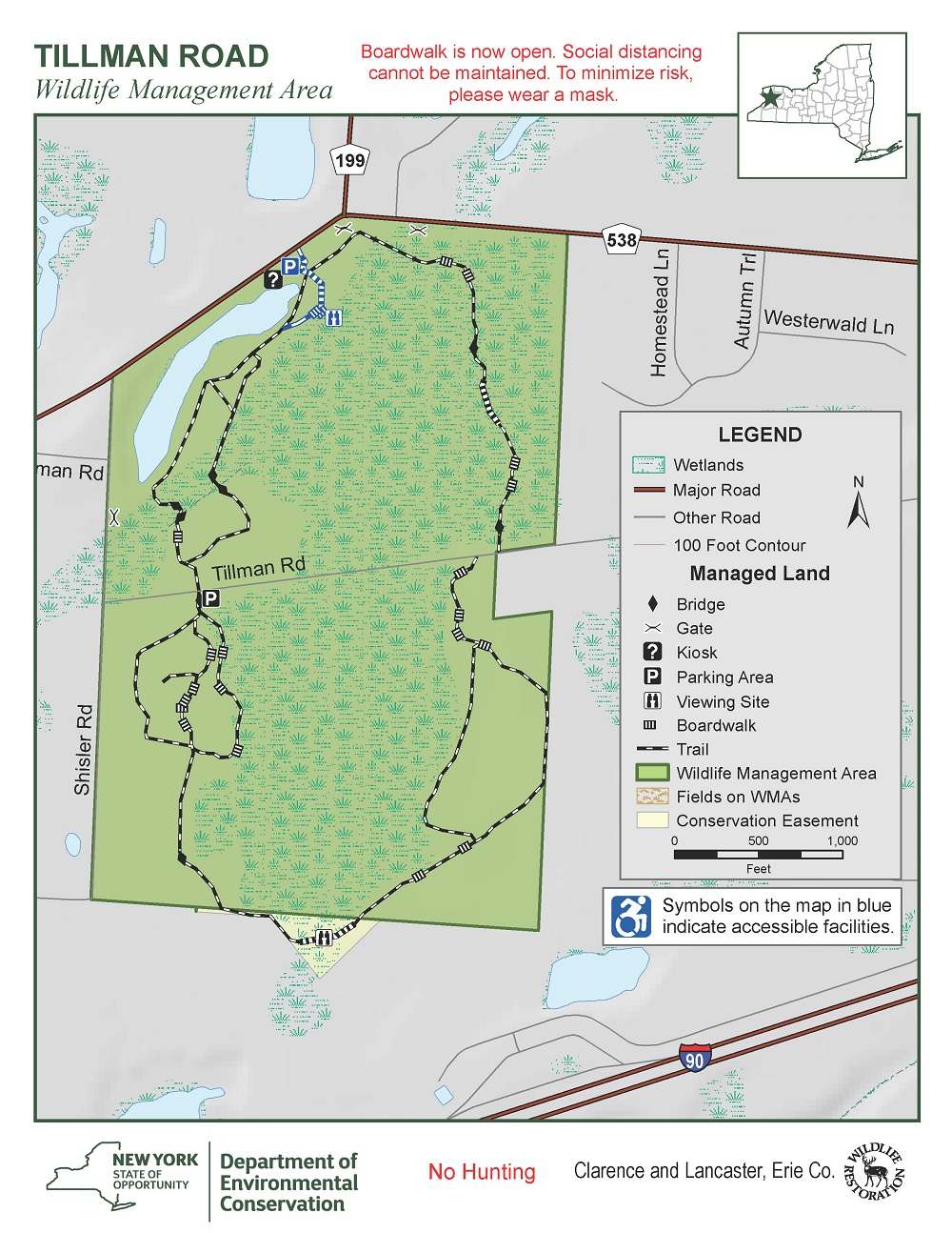 Map of Tillman Road WMA