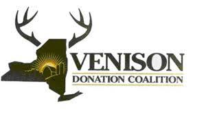 Logo for the Venison Donation Coalition.
