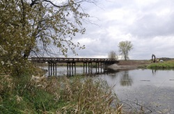 Howland Island bridge at Northern Montezuma WMA