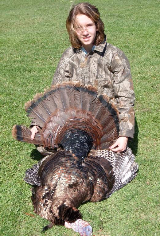 Successful Junior Hunter, Youth Turkey Hunt 2009, Schoharie County